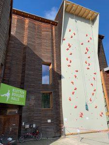 Speedwand Kletterhalle Rosenheim